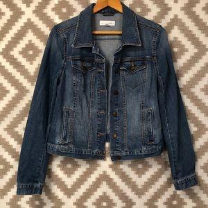 Loft Medium Wash Denim Jean Jacket